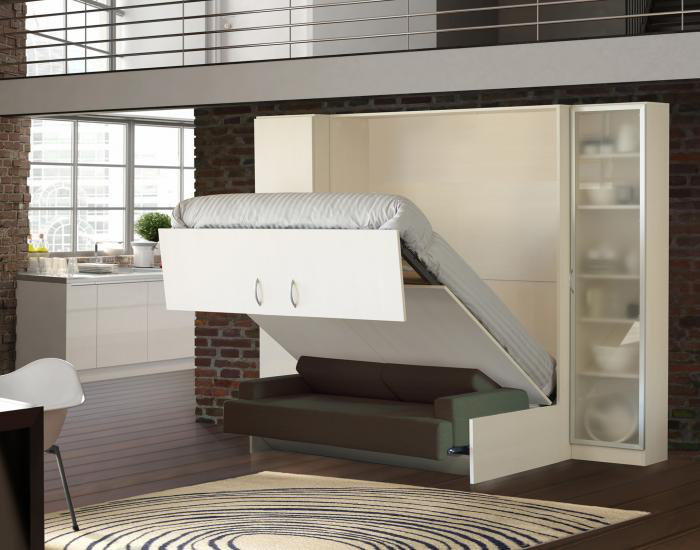 шкаф кровать трансформер двуспальная цена фото
