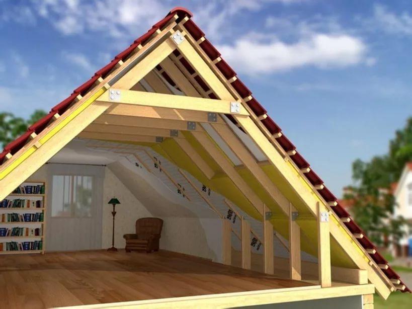 Как сделать фронтон двухскатной крыши - статьи - стройка.ру.