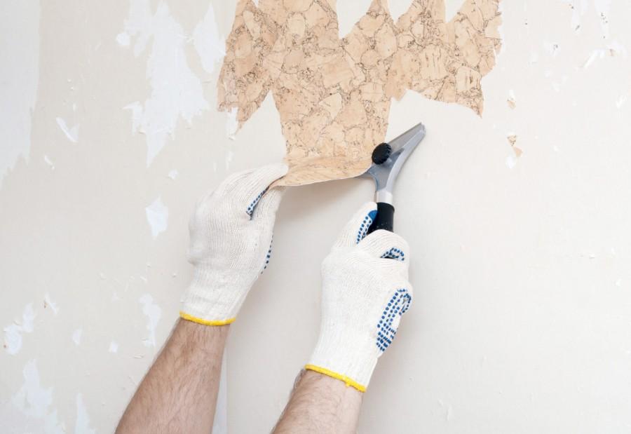 Priprava zidov za ozadje
