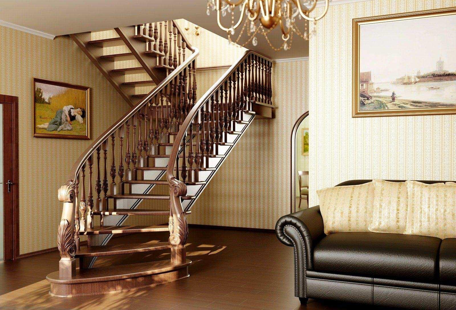 Балясины для лестниц - материалы и принцип установки