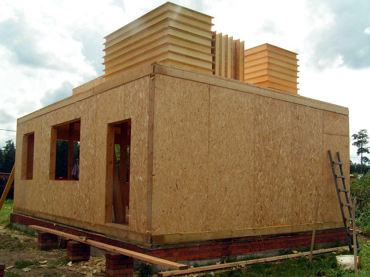 Дом из осб своими руками без опыта строительства