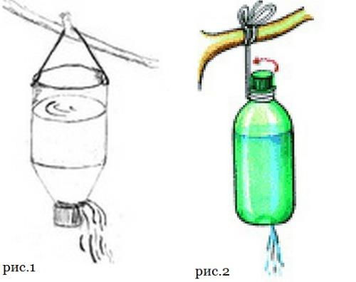 Как сделать рукомойник из пластиковой бутылки 5 литров 97